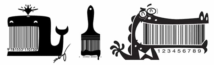 Animierte Barcodes